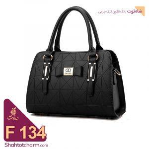 الگوی کیف دستی زنانه چرمی مدل یامور F134