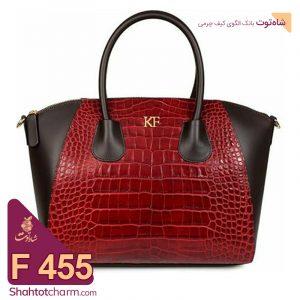 الگوی کیف دستی زنانه چرمی مدل دنیز F455