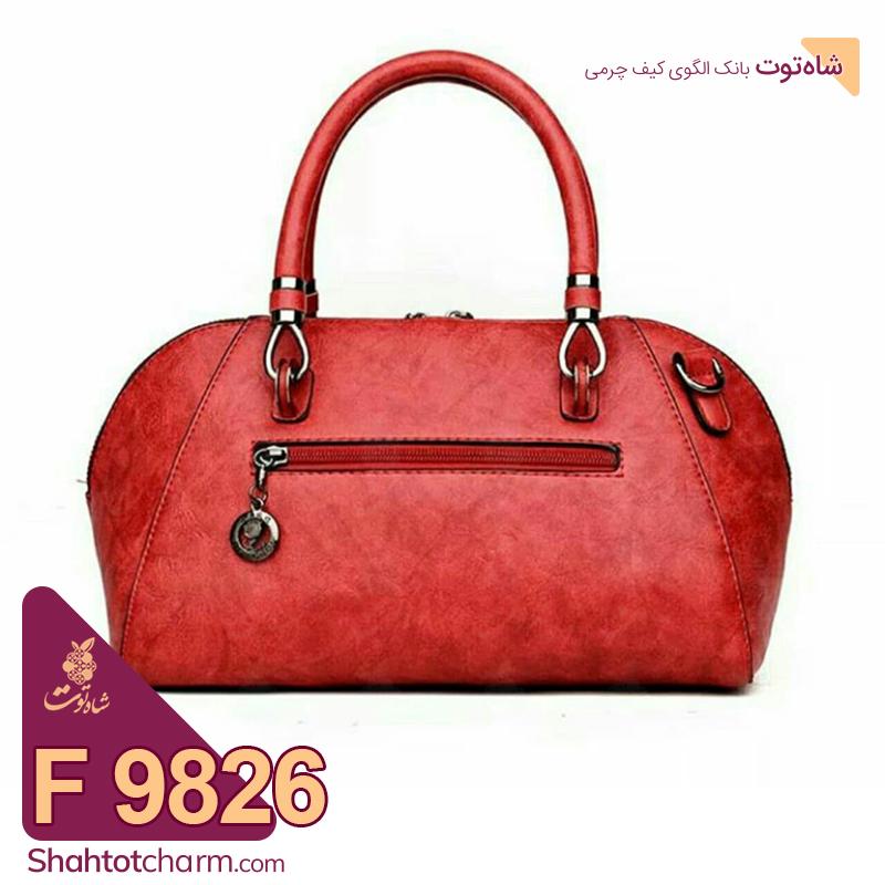 الگوی کیف دستی زنانه چرمی مدل درناز F9826