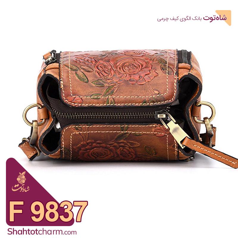 الگوی کیف دستی زنانه چرمی مدل دلنیا F 9837