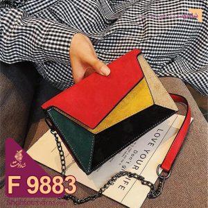 الگوی کیف دوشی زنانه چرمی مدل پریماه F 9883