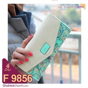 الگوی کیف پول زنانه چرمی مدل اوینا F 9856