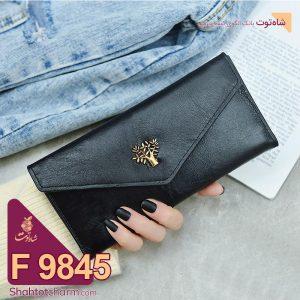 الگوی کیف پول زنانه چرمی مدل آنیل F 9845