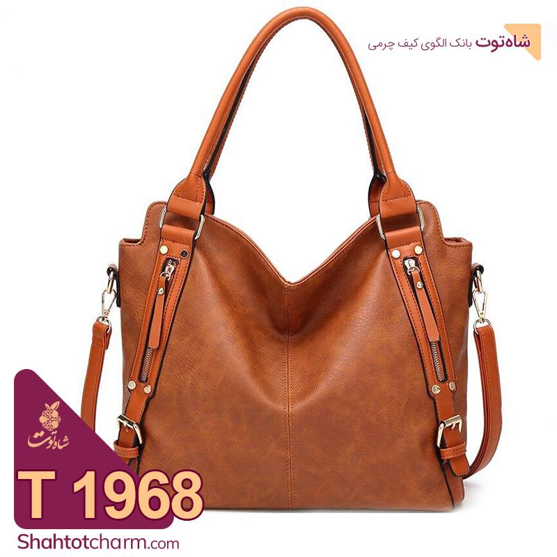 الگوی کیف دستی زنانه چرمی مدل سویل T 1968