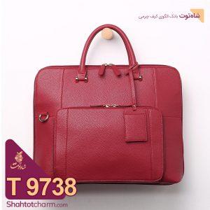 الگوی کیف اداری زنانه چرمی مدل شیانا T 9738