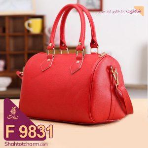 الگوی کیف دستی زنانه چرمی مدل ملیسا F 9831