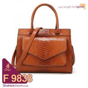 الگوی کیف دستی زنانه چرمی مدل یارا F 9838