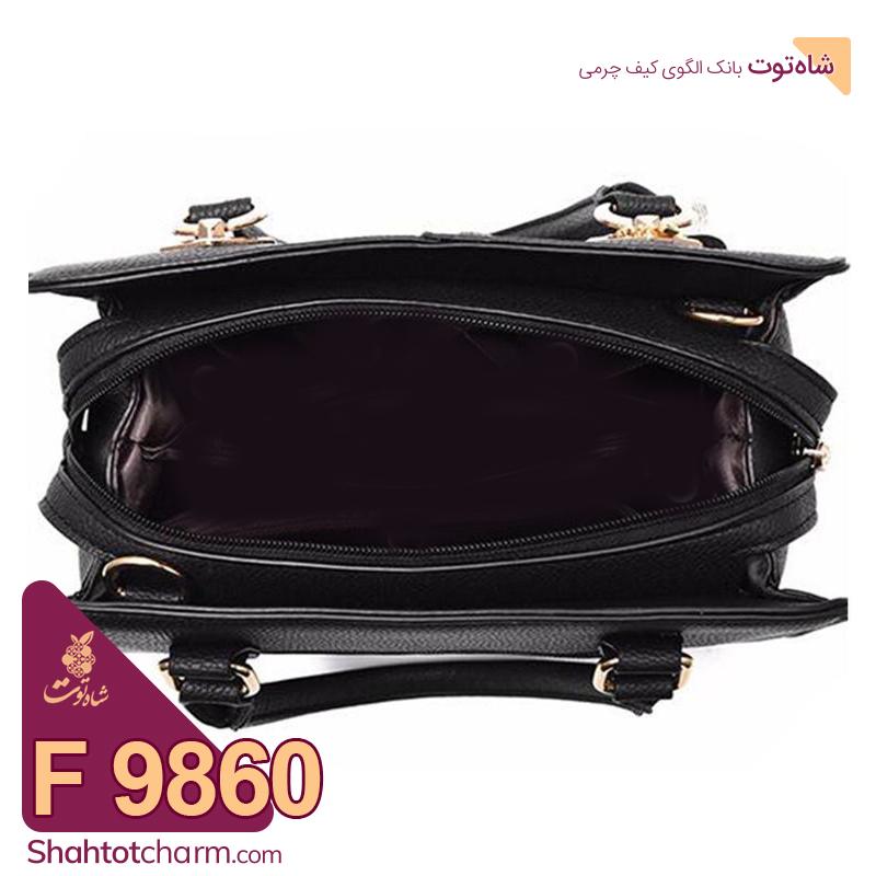 الگوی کیف دستی زنانه چرمی مدل آرتمیس F 9860