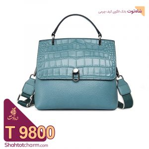 الگوی کیف دستی زنانه چرمی مدل نیهان T 9800