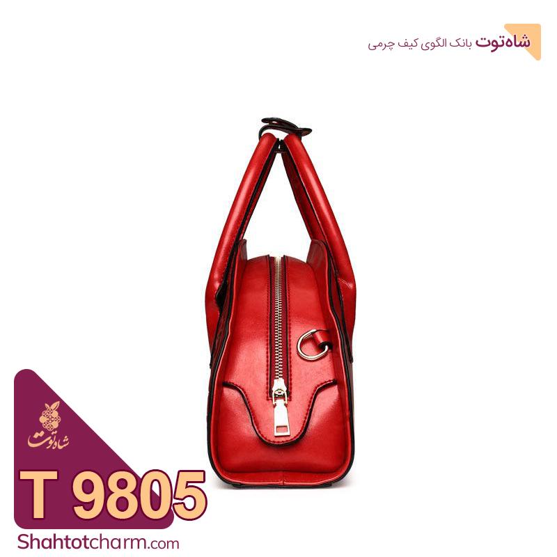 الگوی کیف دوشی زنانه چرمی مدل سلطان T 9805