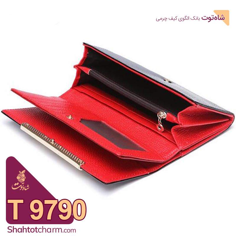 الگوی کیف پول زنانه چرمی مدل آرتنوس T 9790