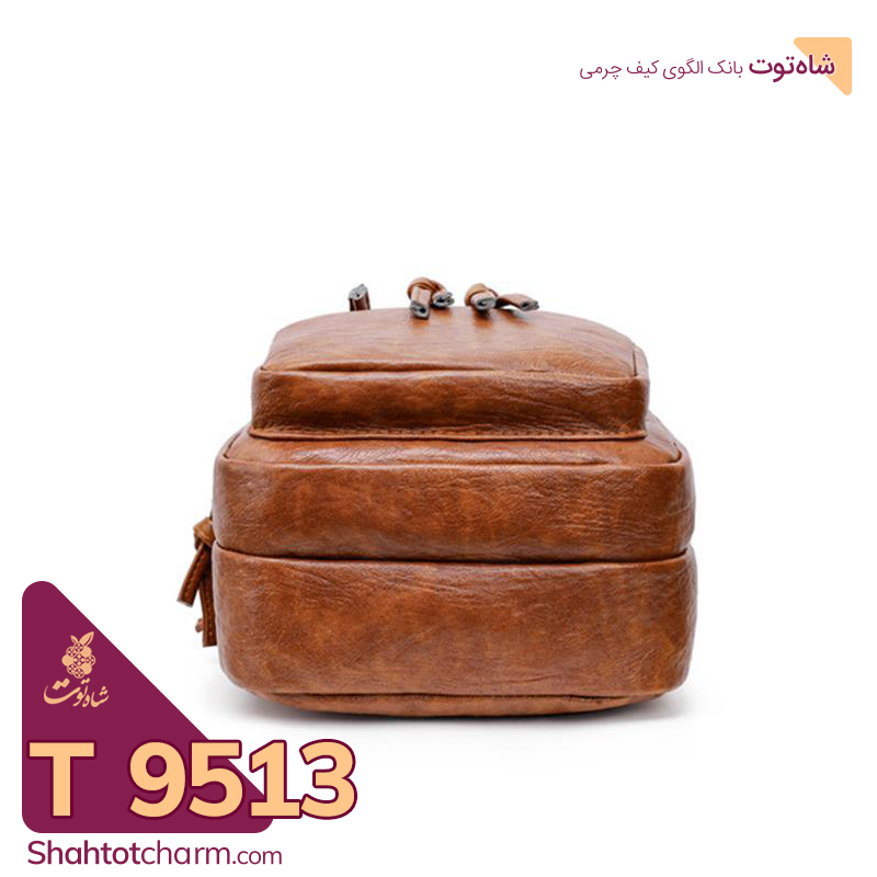 الگوی کیف دوشی زنانه چرمی مدل ارمغان T 9513