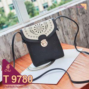 الگوی کیف دوشی زنانه چرمی مدل تندیس T 9780